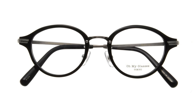 Oh My Glasses TOKYO Mickey omg-073-4-21 [黒縁/鯖江産/丸メガネ]  3