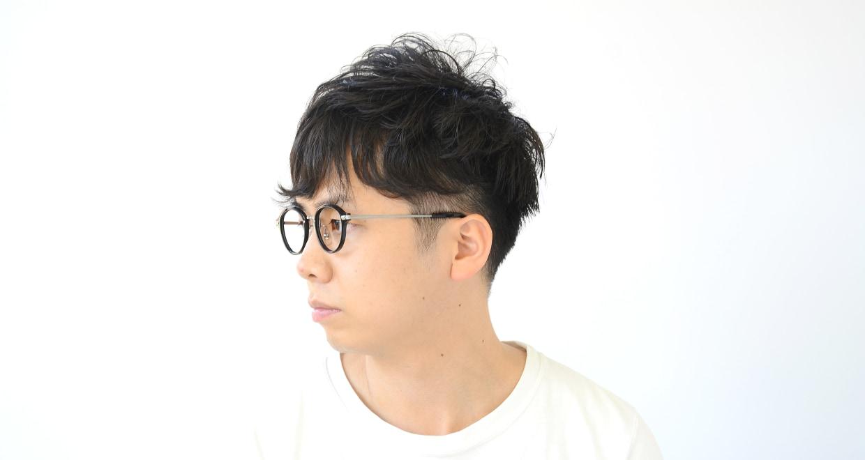 Oh My Glasses TOKYO Mickey omg-073-4-21 [黒縁/鯖江産/丸メガネ]  6