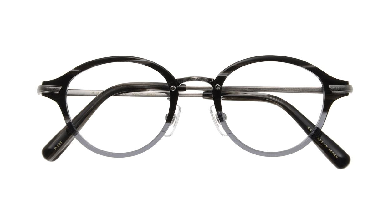 Oh My Glasses TOKYO Mickey omg-073-31-21 [鯖江産/丸メガネ/グレー]  3