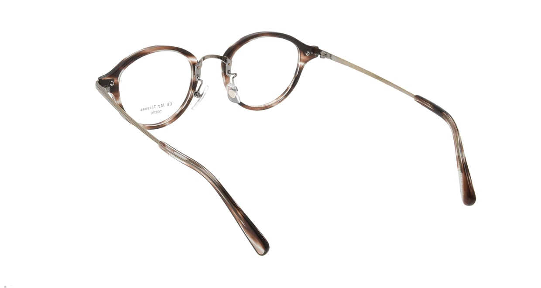Oh My Glasses TOKYO Mickey omg-073-18-12 [鯖江産/丸メガネ/べっ甲柄]  2
