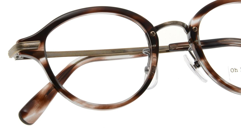 Oh My Glasses TOKYO Mickey omg-073-18-12 [鯖江産/丸メガネ/べっ甲柄]  4