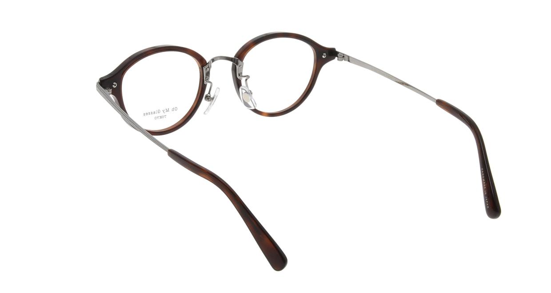 Oh My Glasses TOKYO Mickey omg-073-59-12 [鯖江産/丸メガネ/茶色]  2
