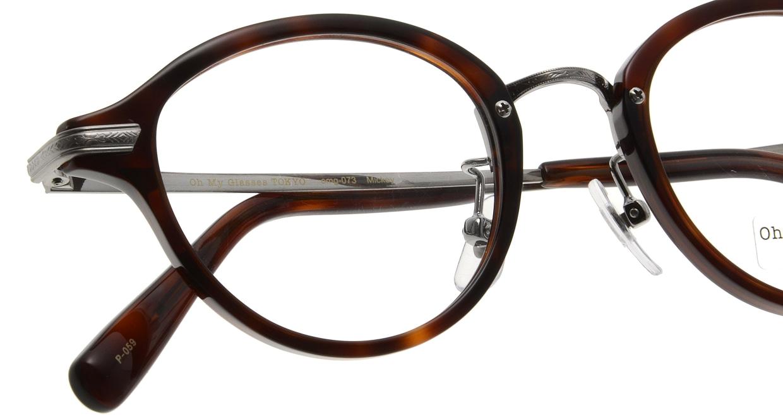 Oh My Glasses TOKYO Mickey omg-073-59-12 [鯖江産/丸メガネ/茶色]  4