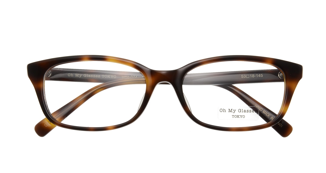 Oh My Glasses TOKYO Romans omg-074-030-53 [鯖江産/ウェリントン/べっ甲柄]  3
