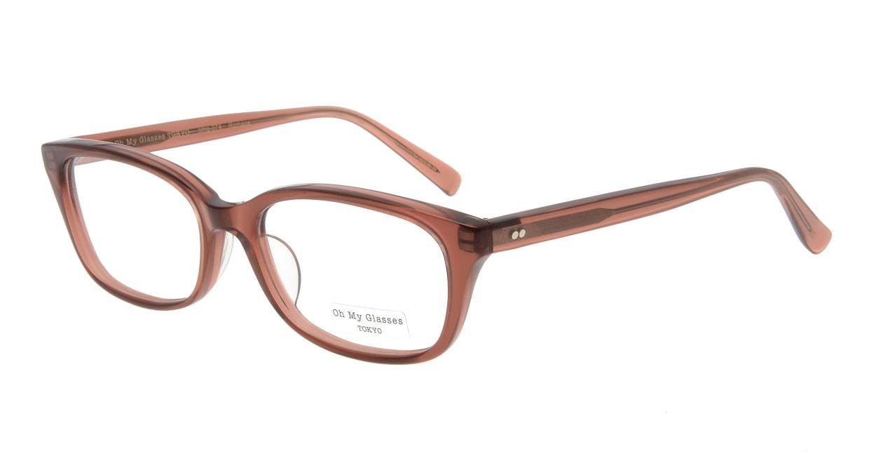 Oh My Glasses TOKYO Romans omg-074-088-53 [鯖江産/ウェリントン/茶色]