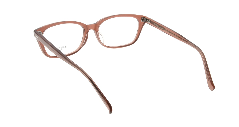 Oh My Glasses TOKYO Romans omg-074-088-53 [鯖江産/ウェリントン/茶色]  2