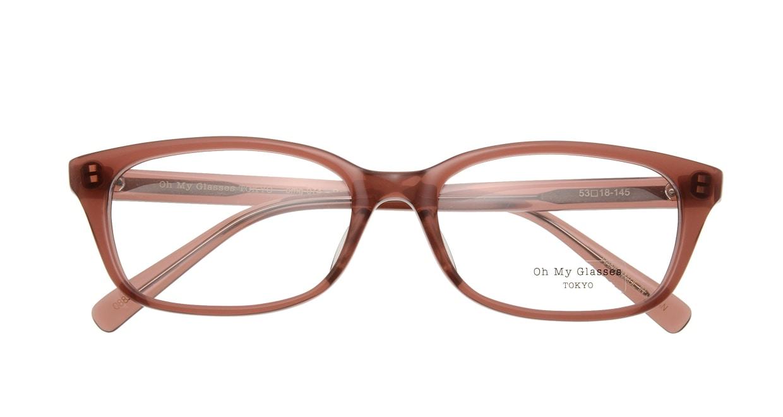 Oh My Glasses TOKYO Romans omg-074-088-53 [鯖江産/ウェリントン/茶色]  3