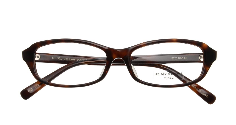 Oh My Glasses TOKYO James omg-075-050-52 [鯖江産/スクエア/べっ甲柄]  3