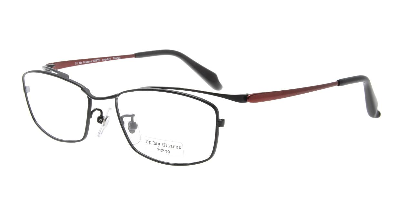 Oh My Glasses TOKYO Thomas omg-076-1-55 [メタル/鯖江産/ウェリントン]