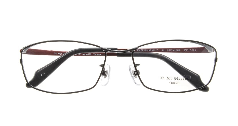 Oh My Glasses TOKYO Thomas omg-076-1-55 [メタル/鯖江産/ウェリントン]  3