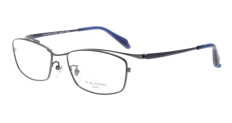 Oh My Glasses TOKYO Thomas omg-076-2-55 [メタル/鯖江産/ウェリントン]