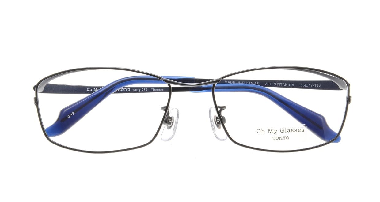 Oh My Glasses TOKYO Thomas omg-076-2-55 [メタル/鯖江産/ウェリントン]  3