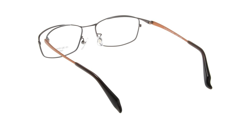 Oh My Glasses TOKYO Thomas omg-076-4-55 [メタル/鯖江産/ウェリントン/茶色]  2