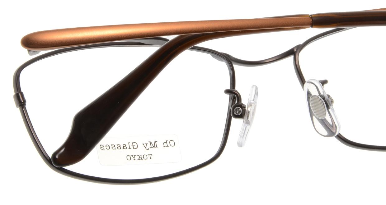Oh My Glasses TOKYO Thomas omg-076-4-55 [メタル/鯖江産/ウェリントン/茶色]  5