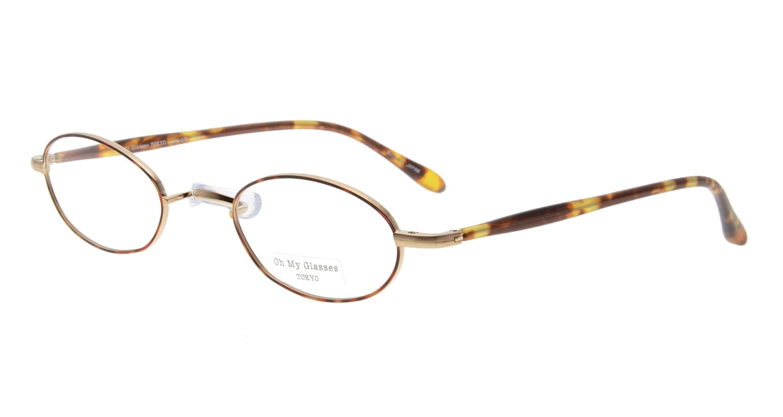Oh My Glasses TOKYO Sharon omg-078-1-47 [メタル/鯖江産/オーバル/べっ甲柄]