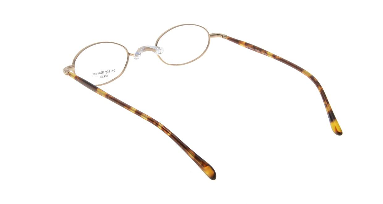 Oh My Glasses TOKYO Sharon omg-078-1-47 [メタル/鯖江産/オーバル/べっ甲柄]  2