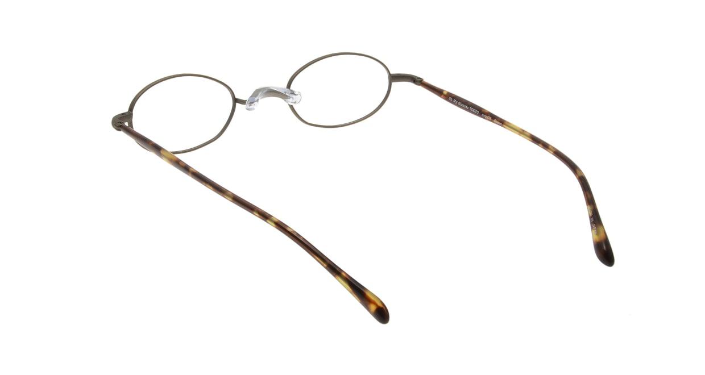 Oh My Glasses TOKYO Sharon omg-078-4-47 [メタル/鯖江産/オーバル/茶色]  2
