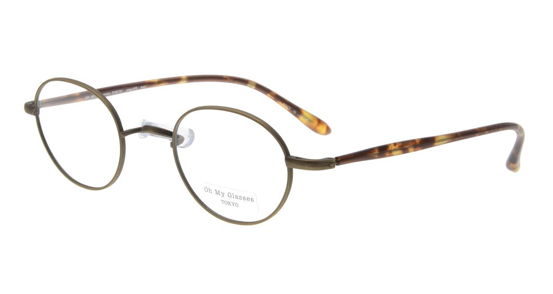 Oh My Glasses TOKYO Karl omg-079-4-44 [メタル/鯖江産/丸メガネ/茶色]