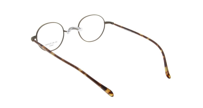 Oh My Glasses TOKYO Karl omg-079-4-44 [メタル/鯖江産/丸メガネ/茶色]  2