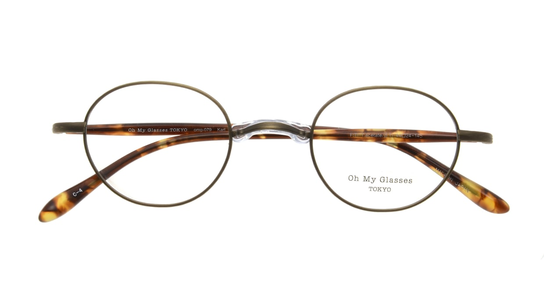 Oh My Glasses TOKYO Karl omg-079-4-44 [メタル/鯖江産/丸メガネ/茶色]  3