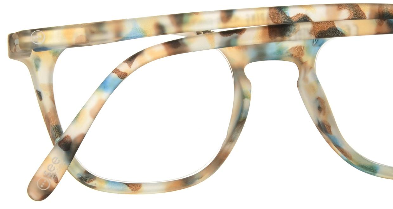 イジピジ リーディンググラス +2.5 #E-BLUE TORTOISE [老眼鏡/ウェリントン/派手]  4