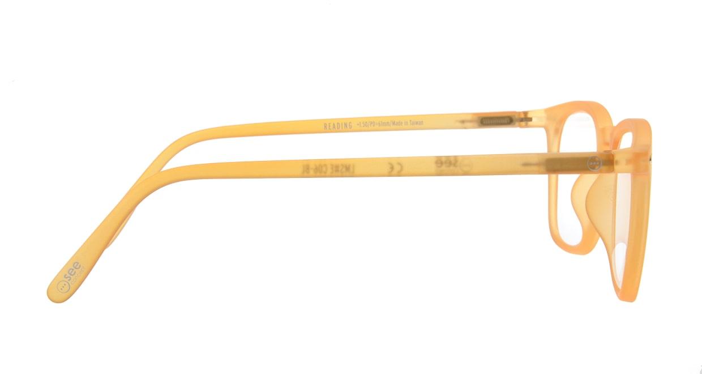 イジピジ リーディンググラス +1.5 #E-YELLOW [老眼鏡/ウェリントン/黄色]  1