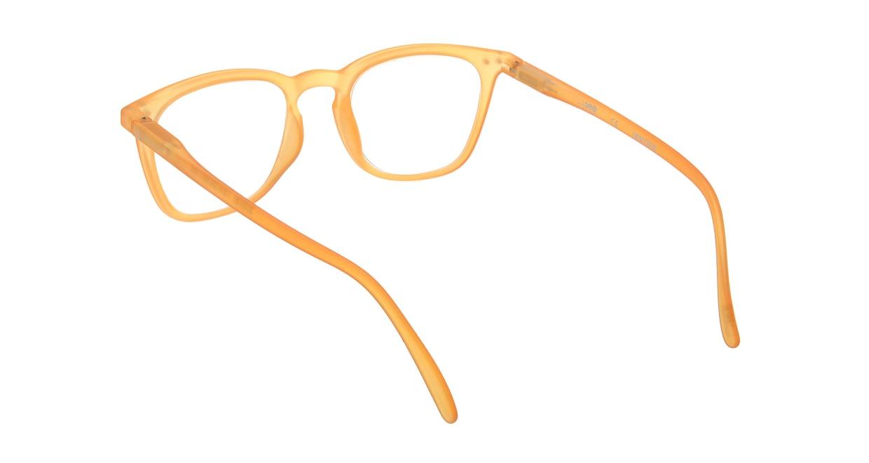 イジピジ リーディンググラス +2.0 #E-YELLOW [老眼鏡/ウェリントン/黄色]  2