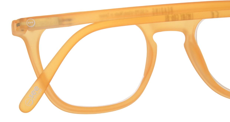 イジピジ リーディンググラス +2.0 #E-YELLOW [老眼鏡/ウェリントン/黄色]  4