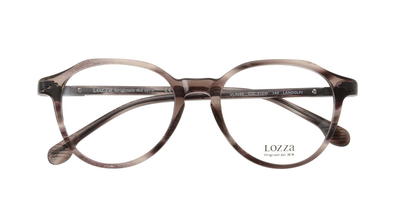 ロッツア VL4094-1EW-50 [丸メガネ/グレー]  3