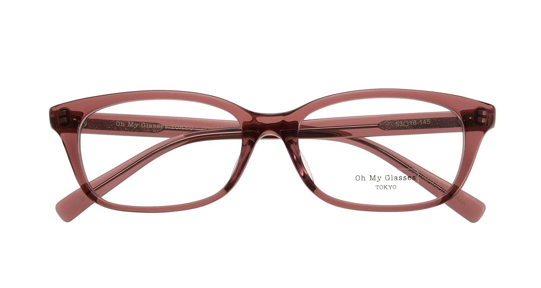 Oh My Glasses TOKYO Romans omg-074-040-53 [鯖江産/ウェリントン/ピンク]  3