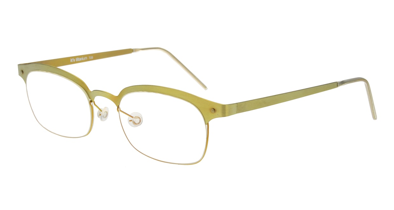 イッツチタニウム 709-p-ii [メタル/ウェリントン/黄色]