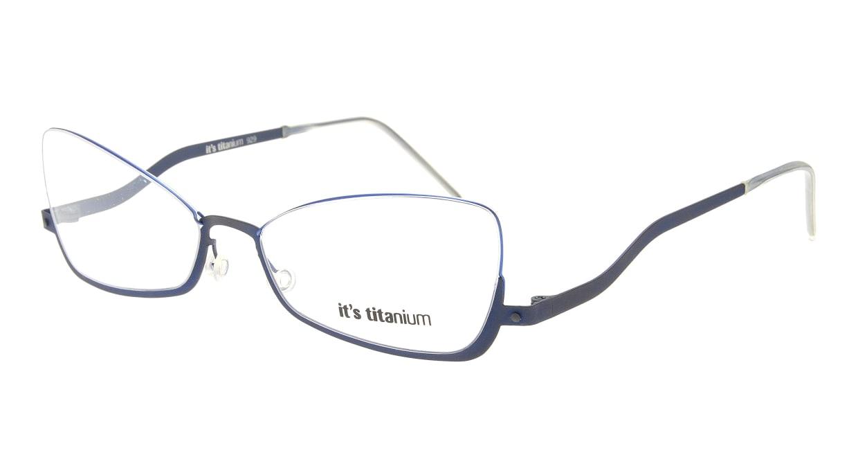 イッツチタニウム 929-v-dd [メタル/フォックス/青]