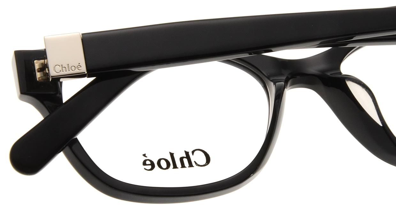 クロエ CE2701A-001 BLACK [黒縁/ウェリントン]  4