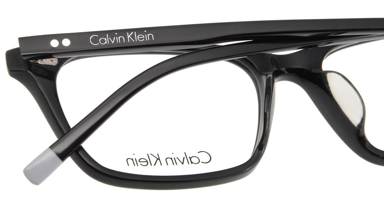カルバンクライン CK5948A-001 BLACK [黒縁/ウェリントン]  4