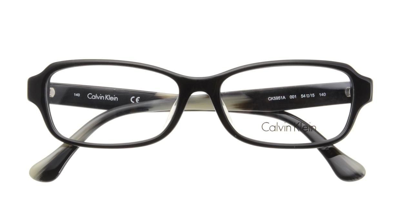 カルバンクライン CK5951A-001-54 BLACK [黒縁/スクエア]  3