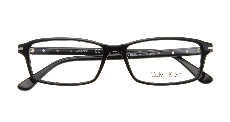 カルバンクライン CK5953A-001 BLACK [黒縁/スクエア]  3