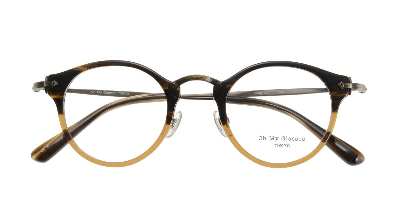 Oh My Glasses TOKYO Luke omg-025-21-13 [鯖江産/丸メガネ/茶色]  3