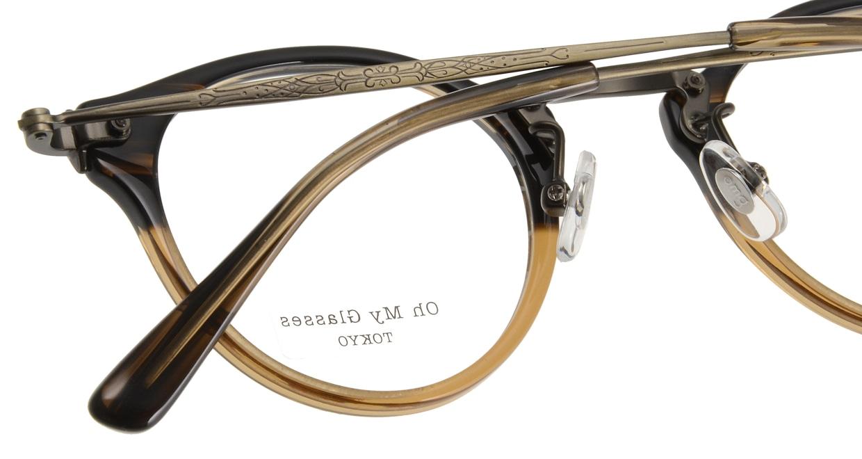 Oh My Glasses TOKYO Luke omg-025-21-13 [鯖江産/丸メガネ/茶色]  4