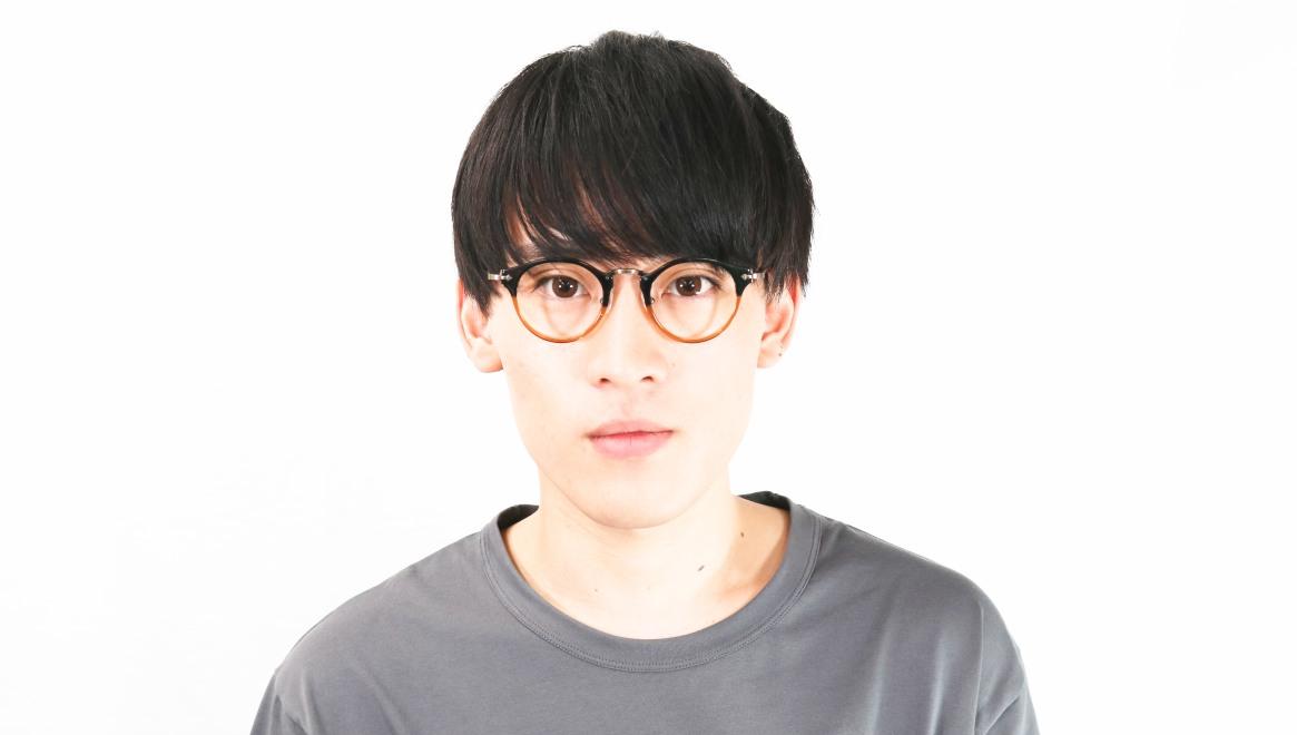 Oh My Glasses TOKYO Luke omg-025-21-13 [鯖江産/丸メガネ/茶色]  5