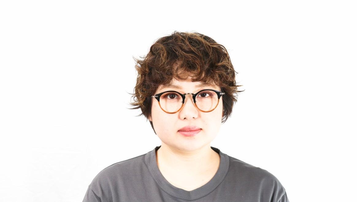 Oh My Glasses TOKYO Luke omg-025-21-13 [鯖江産/丸メガネ/茶色]  7