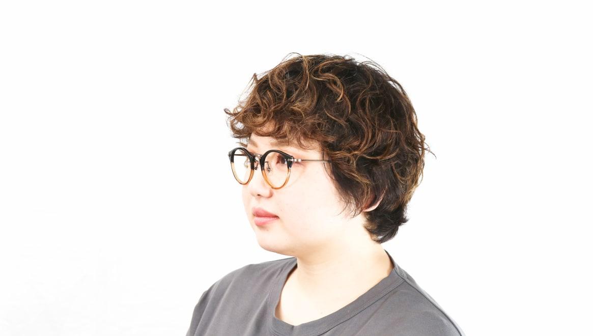 Oh My Glasses TOKYO Luke omg-025-21-13 [鯖江産/丸メガネ/茶色]  8