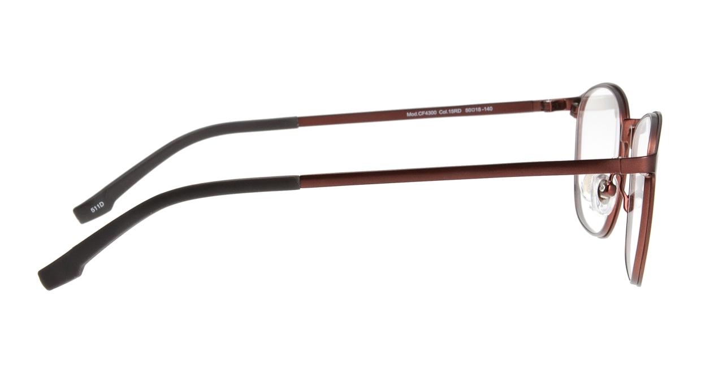 クロックスアイウェア CF4300-15RD-50 [メタル/ウェリントン/茶色]  1