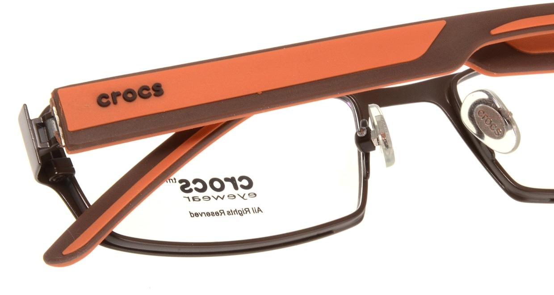 クロックスアイウェア CF303-40OE [メタル/スクエア/茶色]  4