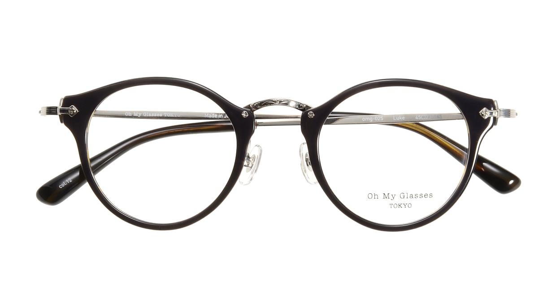 Oh My Glasses TOKYO Luke omg-025-40-20 [鯖江産/丸メガネ/青]  3
