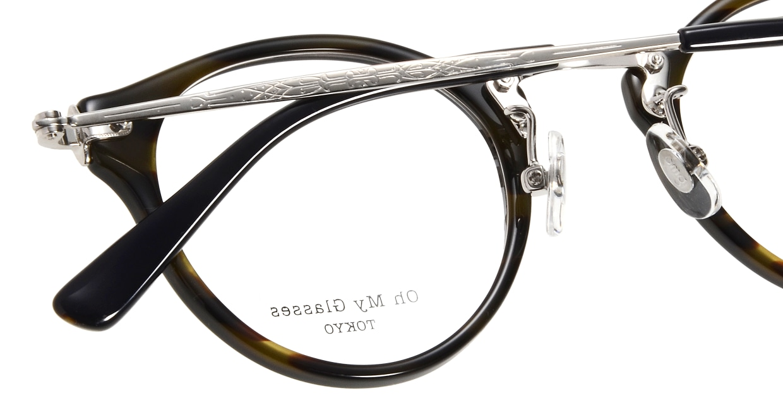 Oh My Glasses TOKYO Luke omg-025-40-20 [鯖江産/丸メガネ/青]  4