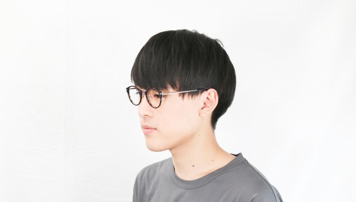Oh My Glasses TOKYO Luke omg-025-40-20 [鯖江産/丸メガネ/青]  6