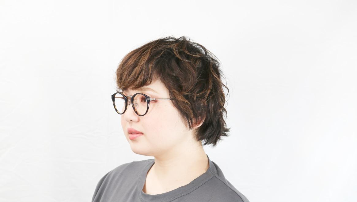 Oh My Glasses TOKYO Luke omg-025-40-20 [鯖江産/丸メガネ/青]  8
