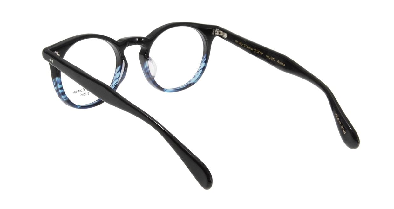 Oh My Glasses TOKYO Richard omg-049 6-48 [黒縁/鯖江産/丸メガネ]  2