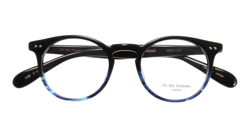 Oh My Glasses TOKYO Richard omg-049 6-48 [黒縁/鯖江産/丸メガネ]  3