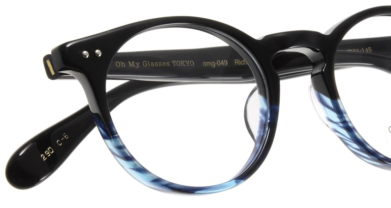 Oh My Glasses TOKYO Richard omg-049 6-48 [黒縁/鯖江産/丸メガネ]  4